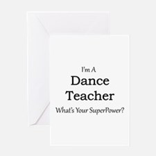 Dance Teacher Greeting Cards