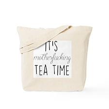 It's Tea Time Tote Bag