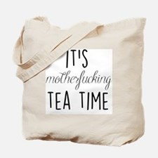 It's Tea Time Tote Bag