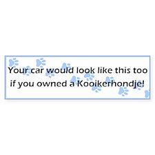 Your Car Kooikerhondje Bumper Car Sticker
