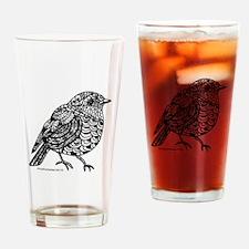 Little Bird 1 Drinking Glass