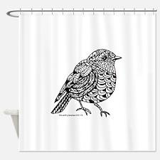 Little Bird 1 Shower Curtain