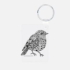Little Bird 1 Aluminum Photo Keychain