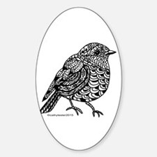 Little Bird 1 Sticker (Oval)