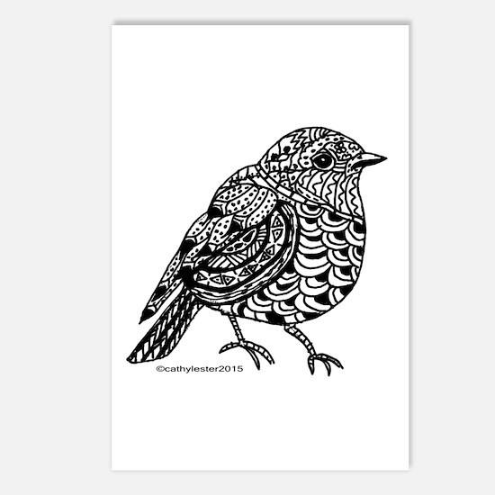 Little Bird 1 Postcards (Package of 8)