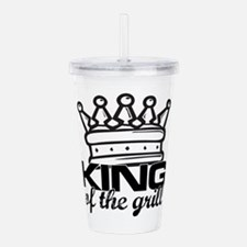 King of the Grill Acrylic Double-wall Tumbler