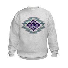 Native Style Purple Sunburst Sweatshirt