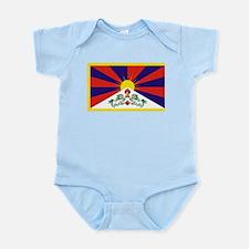 Tibetan Free Tibet Flag - Peu Rangzen Body Suit