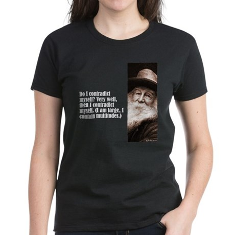 "Whitman ""Contradict"" Women's Dark T-Shirt"