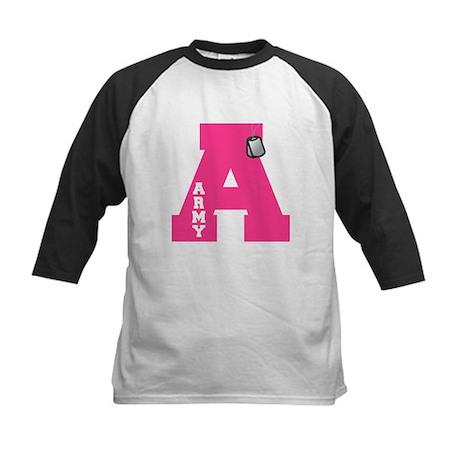 A - Army Kids Baseball Jersey