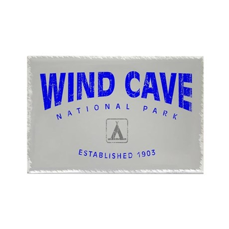 Wind Cave National Park (Arch) Rectangle Magnet
