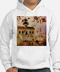 fall leaves country house Hoodie