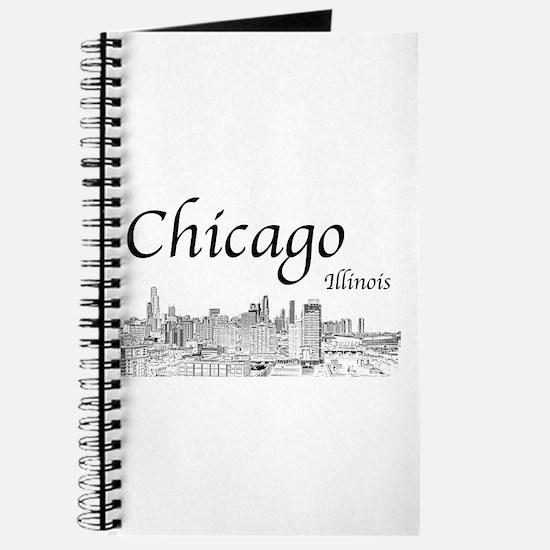 Chicago on White Journal