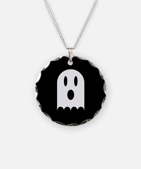 Cute Scary Halloween Ghost Necklace