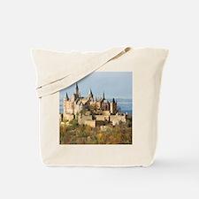 HILLTOP CASTLE Tote Bag
