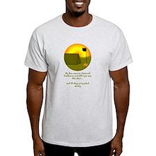 Unofficial NSJ Ash Grey T-Shirt