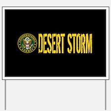 U.S. Army: Desert Storm Yard Sign