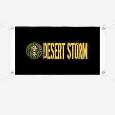 U.S. Army: Desert Storm Banner