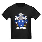 Estela Family Crest Kids Dark T-Shirt