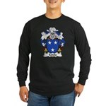 Estela Family Crest Long Sleeve Dark T-Shirt