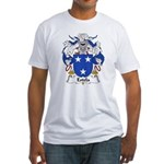 Estela Family Crest Fitted T-Shirt