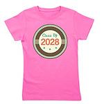 Class Of 2028 Vintage Girl's Tee