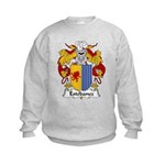 Estebanez Family Crest Kids Sweatshirt