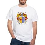 Estebanez Family Crest White T-Shirt