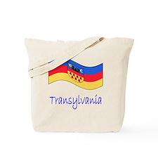Waving Transylvania Historical Flag Tote Bag