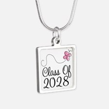 Class of 2028 butterfly Necklaces