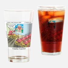 Crawfish 101 Drinking Glass
