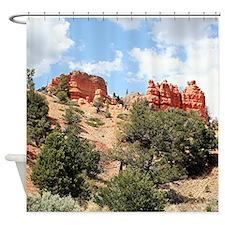 Red Canyon, Utah,USA 4 Shower Curtain