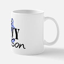 Proud Navy Son - Blue Anchor Mug