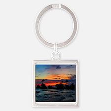 Rocky Island in Silhouette Keychains