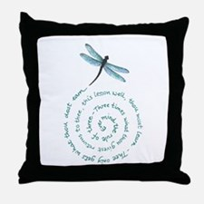 Witches law-rule of three Throw Pillow