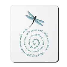 Witches law-rule of three Mousepad