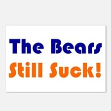 Bears Still Suck Postcards (Package of 8)
