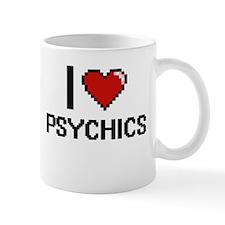 I Love Psychics Digital Design Mugs