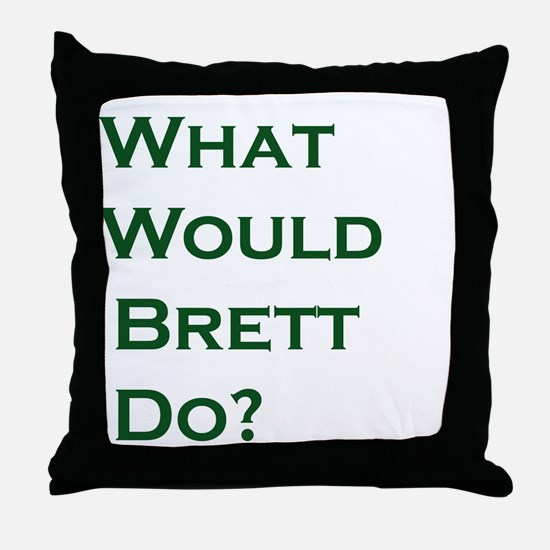 Unique Green bay wisconsin curling Throw Pillow