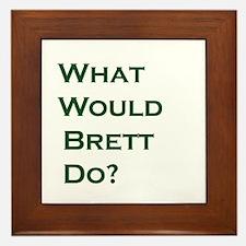 Cute Brett Framed Tile
