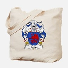 Espes Family Crest Tote Bag