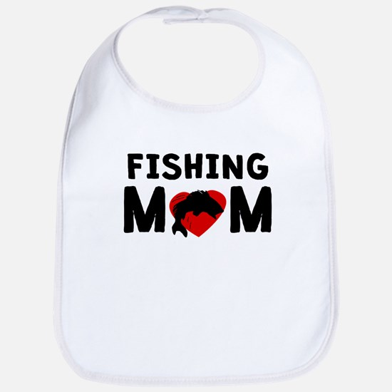 Fishing Mom Bib