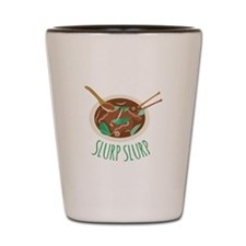 Slurp Slurp Shot Glass
