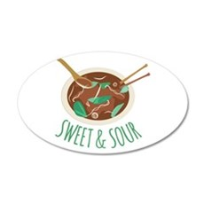 Sweet & Sour Wall Decal