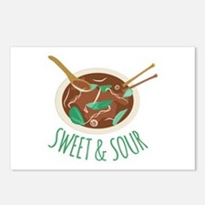 Sweet & Sour Postcards (Package of 8)