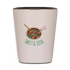 Sweet & Sour Shot Glass