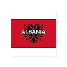 """Cute Albanian Square Sticker 3"""" x 3"""""""