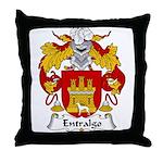 Entralgo Family Crest Throw Pillow