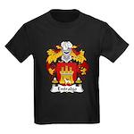 Entralgo Family Crest Kids Dark T-Shirt