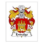 Entralgo Family Crest Small Poster